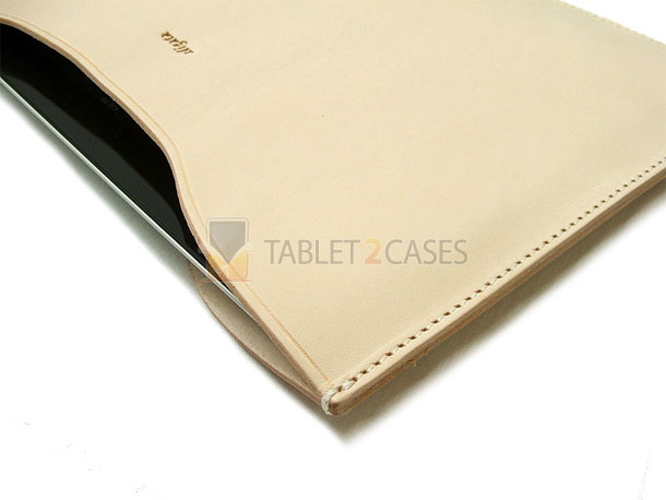 Aligata iPad 2 Handmade Leather Sleeve Nude Beauty case