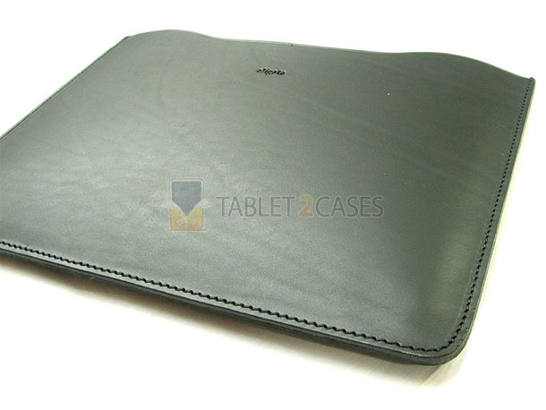 Aligata iPad 2 Handmade Leather Sleeve Black Espresso case