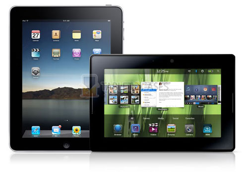 Blackberry Playbook vs iPad review