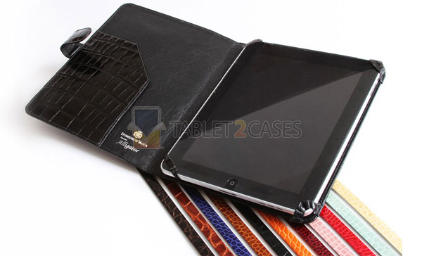 Domenico Vacca iPad alligator case