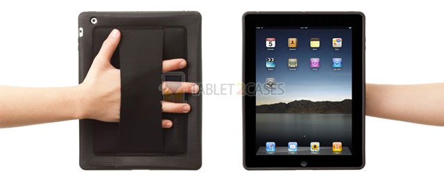 Griffin AirStrap case with strap for iPad2