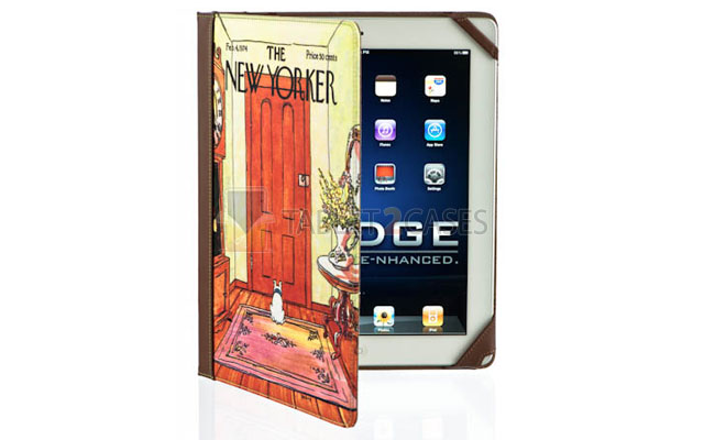 New Yorker iPad 2 Book Jacket by M-Edge