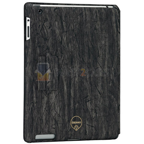 Ozaki iCoat Notebook Grain iPad 2 case