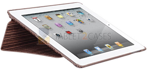 Ozaki iCoat Notebook Grain iPad 2 case with stand