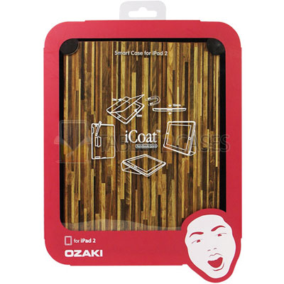 Ozaki iCoat Notebook Grain iPad 2 hard case