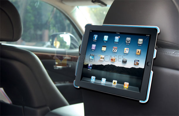 Sumdex SpinWork2 car headrest case for iPad2