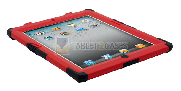 Trident Kraken II iPad 2 case with screen protector