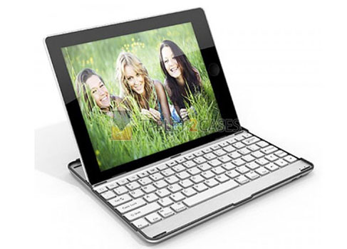 iPad 2 Aluminum Bluetooth Buddy Keyboard Case