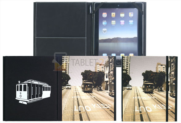 Caseable Book Jacket for iPad and iPad 2