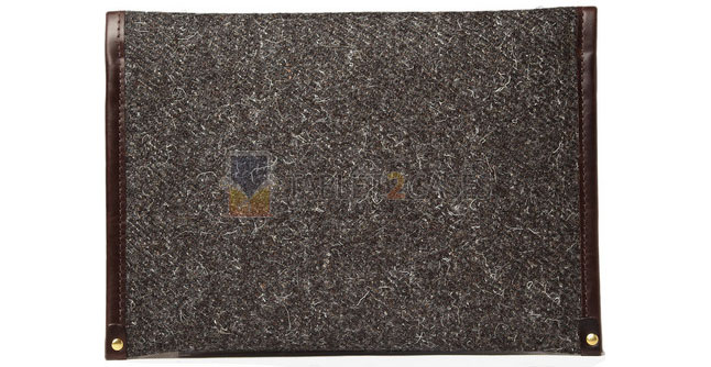 Tweed Wool iPad Case from Cherchbi
