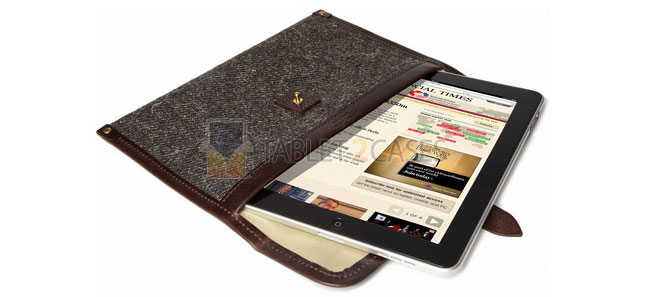 iPad Tweed Wool Case from Cherchbi
