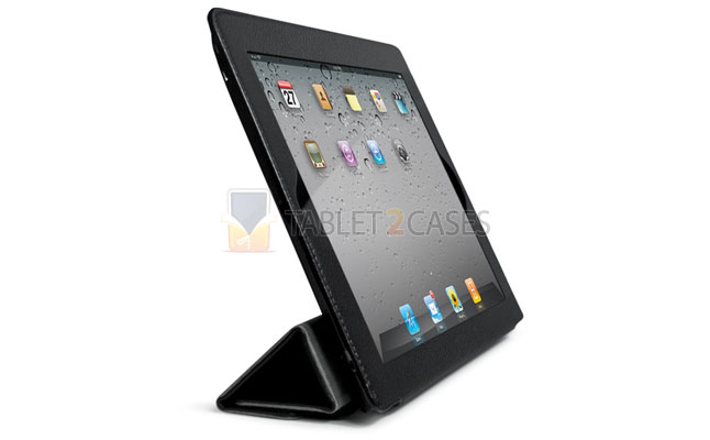 SmartFold Leatherette Portfolio Case for iPad 2 from id America screenshot