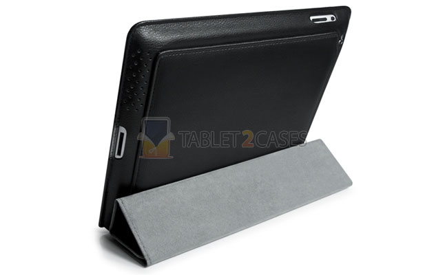 SmartFold Leatherette Portfolio iPad2 Case from id America