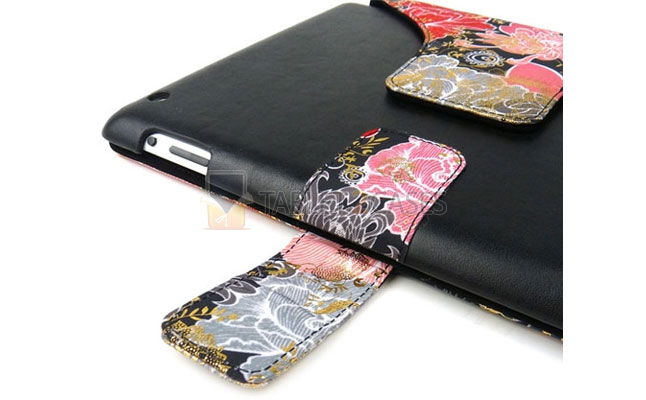 iPad 2 JAVOedge Evening Bloom Axis Case