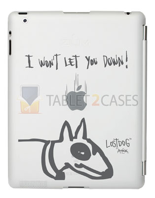 "iPad 2 Lost Dog ""Won't let you down"" case review"