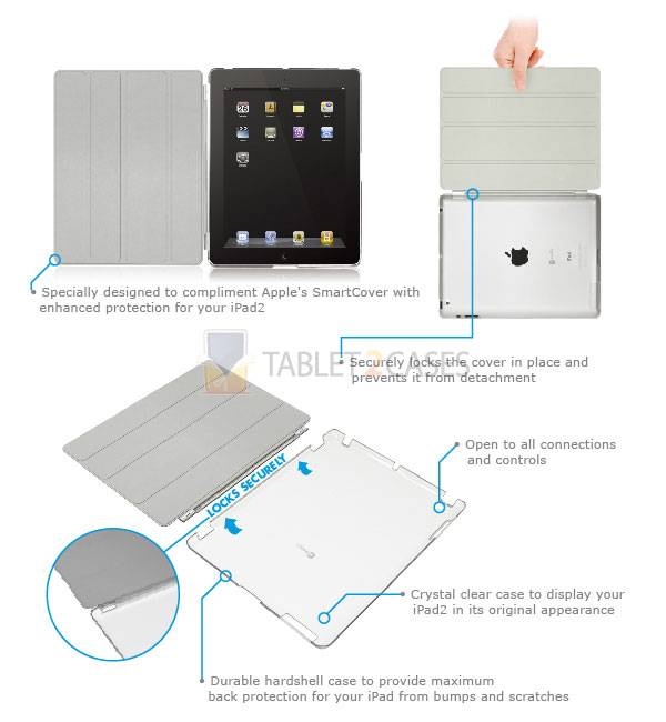 Macally SmartMatec case for iPad 2