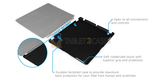iPad 2 Macally SmartMate Case screenshot