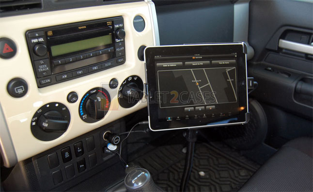 Ram Pod I Universal No-Drill Vehicle Mount for iPad and iPad 2