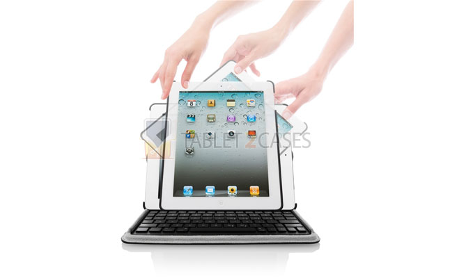 iPad 2 Targus Versavu Keyboard case review