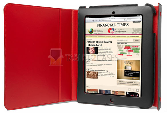 Bill Amberg Leather iPad Case and Stand review