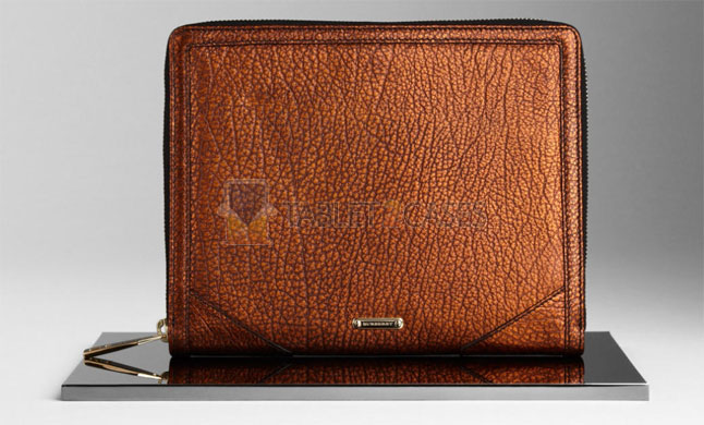 Metallic Leather iPad Case from Burberry