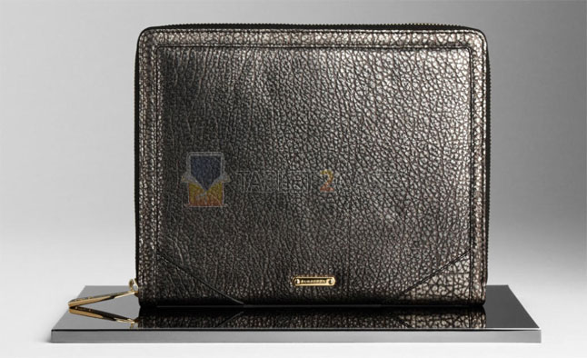 Metallic Leather iPad Case from Burberry screenshot