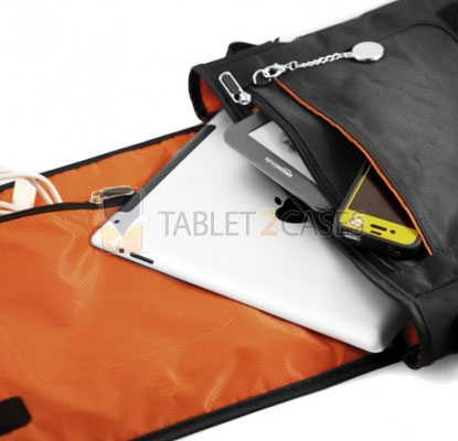 Horizontal Mobile Messenger Bag for iPad and iPad 2 from CaseCrown