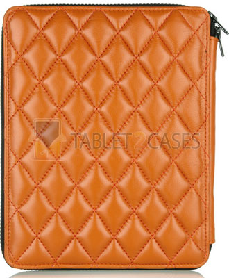 H by Harris Q2 Pad Tangerine case for iPad screenshot