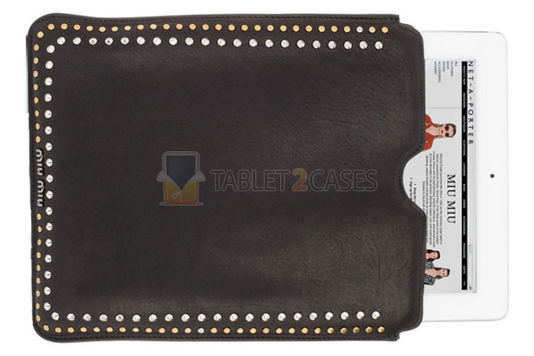 Miu Miu Studded iPad Sleeve