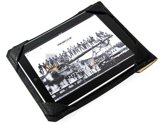 Parabellum Bison Leather iPad Portfolio