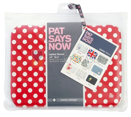 Red Polka Dot from Pat Says Now