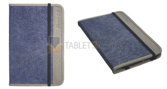 Kindle Snugg Case Cover in Blue Denim
