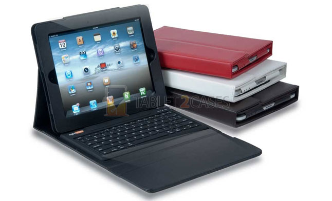 Solid Line RightShift Bluetooth Keyboard Case for iPad 2