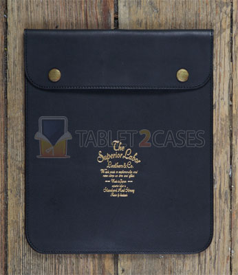 Superior Labor Leather iPad Sleeve touchscreen