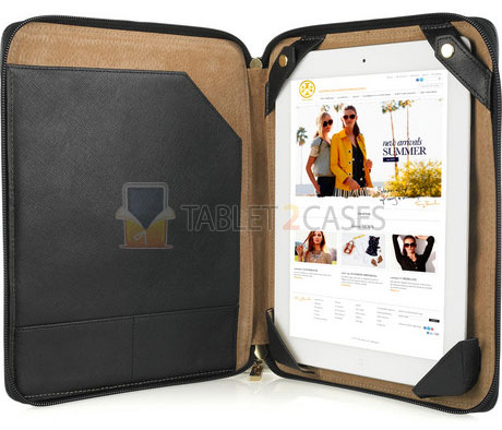Tory Burch Canvas Case for iPad