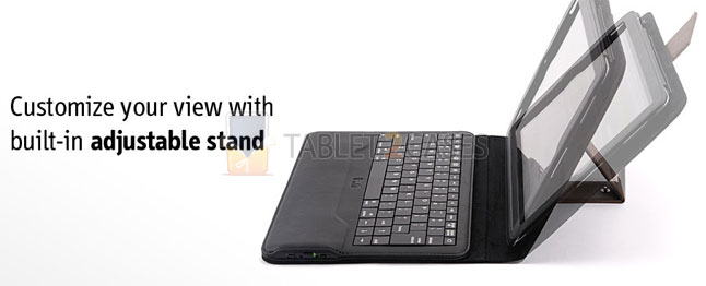 Ipevo Typi Folio Case and Wireless Keyboard for iPad 2