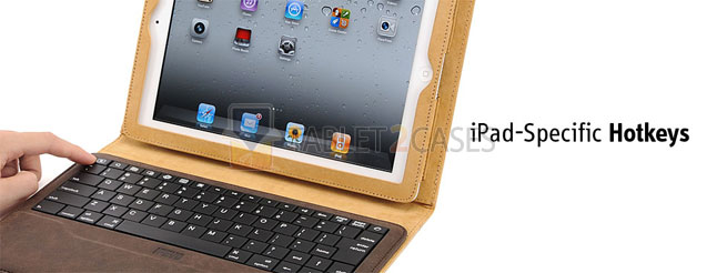 iPad 2 Ipevo Typi Folio Case and Wireless Keyboard