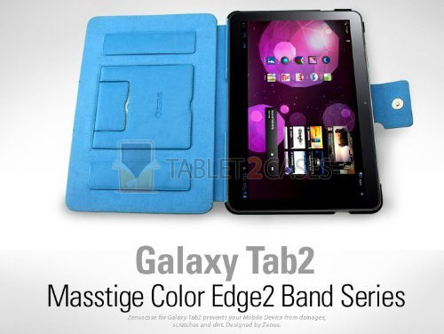Galaxy Tab 10.1 Masstige Color Edge2 Series Case from Zenus