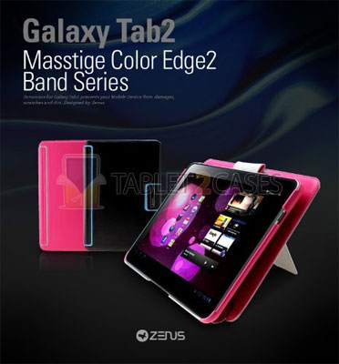 Galaxy Tab 10.1 Masstige Color Edge2 Series Case from Zenus  review