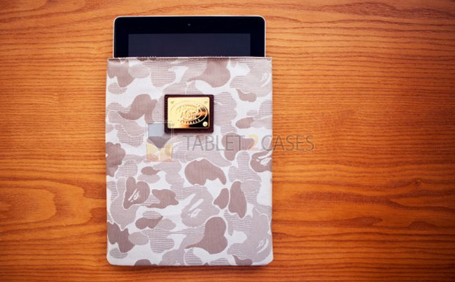 A Bathing Ape Jacquard ABC Camo iPad Case review