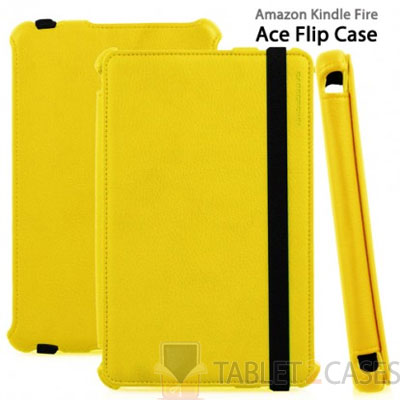 Casecrown Ace Flip Case for Amazon Kindle Fire