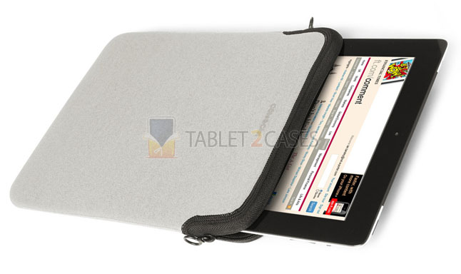Cote & Ciel Zippered Sleeve for iPad 2