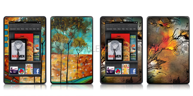 iStyles Amazon Kindle Fire Skins review