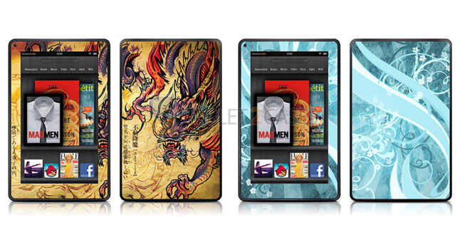 iStyles Amazon Kindle Fire Skins screenshot