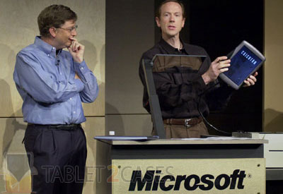 Microsoft Tablet PC is 10 years old