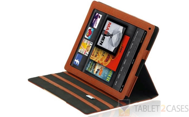 Splash Signature Folio Leather Case for Kindle Fire screenshot