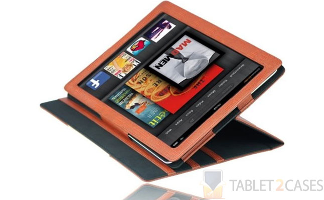 Signature Folio Leather Case for Kindle Fire from Splash