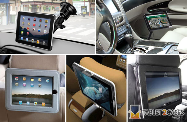 Tablet Insight: Tablet car mounts