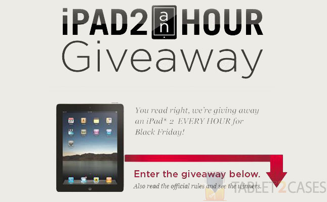 ZAGG Black Friday iPad 2 giveaway