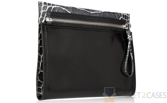 3.1 Philip Lim Pashli Crocodile-effect Clutch